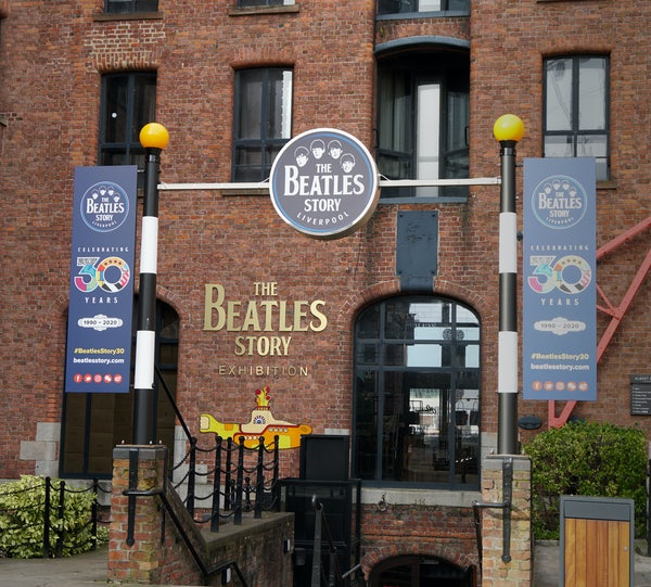 The Beatles Story header image