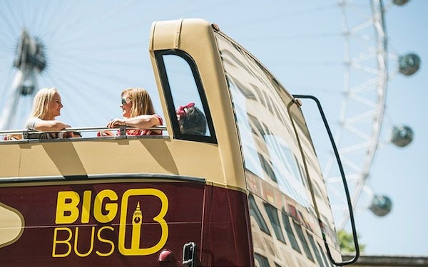London Big Bus Tour header image