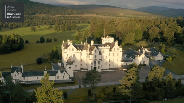 BLAIR CASTLE header image