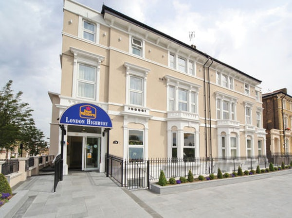 BEST WESTERN HIGHBURY header image