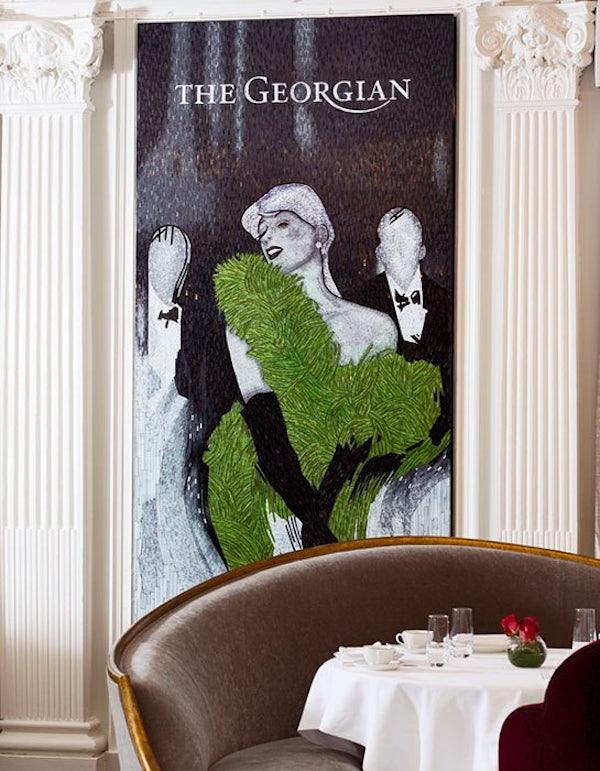 Harrods - Georgian Restaurant Afternoon Tea header image