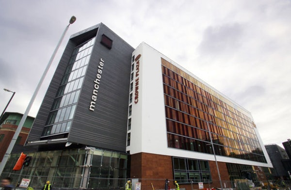 CROWNE PLAZA MANCHESTER CITY CENTRE header image