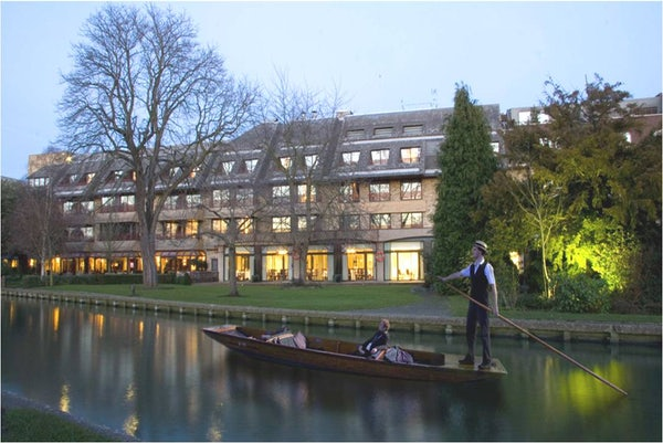 CAMBRIDGE HOTEL header image