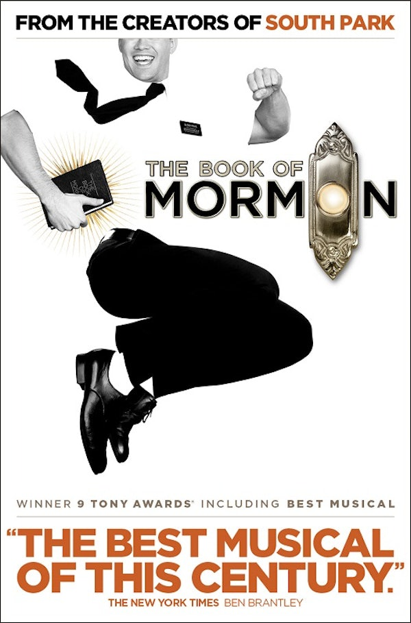 BOOK OF MORMON (Top Price level) header image