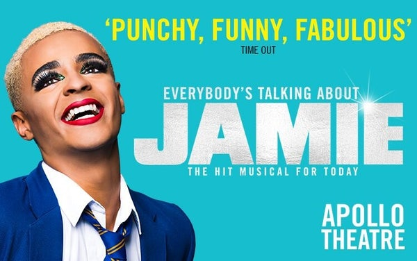EVERYBODY'S TALKING ABOUT JAMIE (Top Price Level) header image