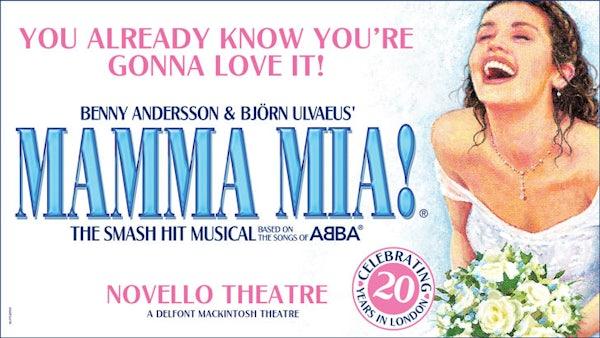 MAMMA MIA (Top Price level) header image