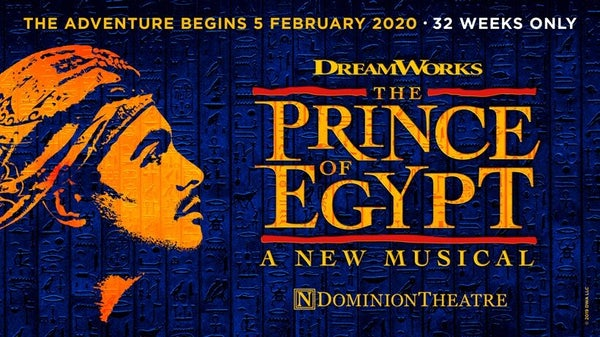 THE PRINCE OF EGYPT (Top Price Level) header image