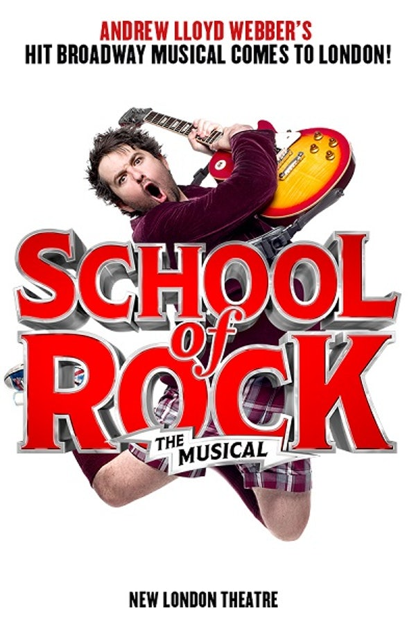 SCHOOL OF ROCK header image