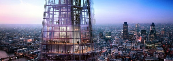 THE VIEW FROM THE SHARD header image