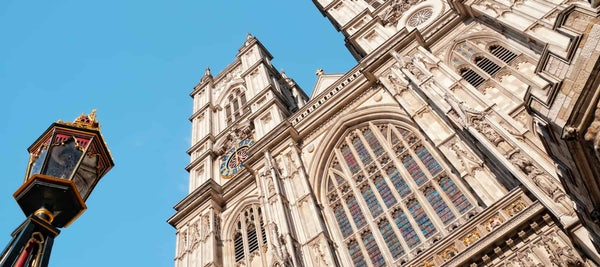 WESTMINSTER ABBEY header image