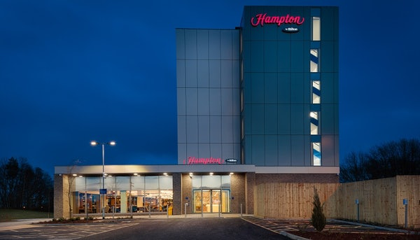 HAMPTON BY HILTON EDINBURGH AIRPORT header image