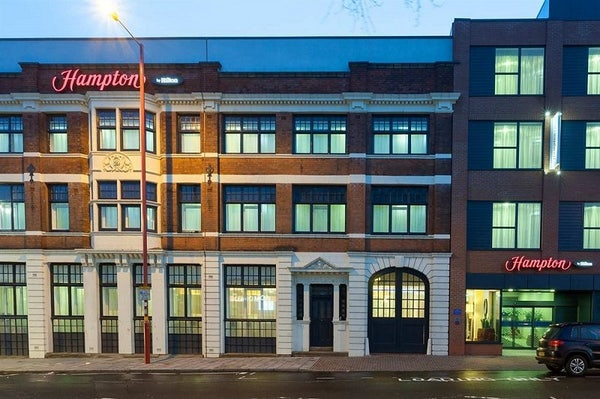 HAMPTON BY HILTON BIRMINGHAM JEWELLERY QUARTER header image