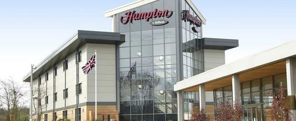 HAMPTON BY HILTON CORBY header image