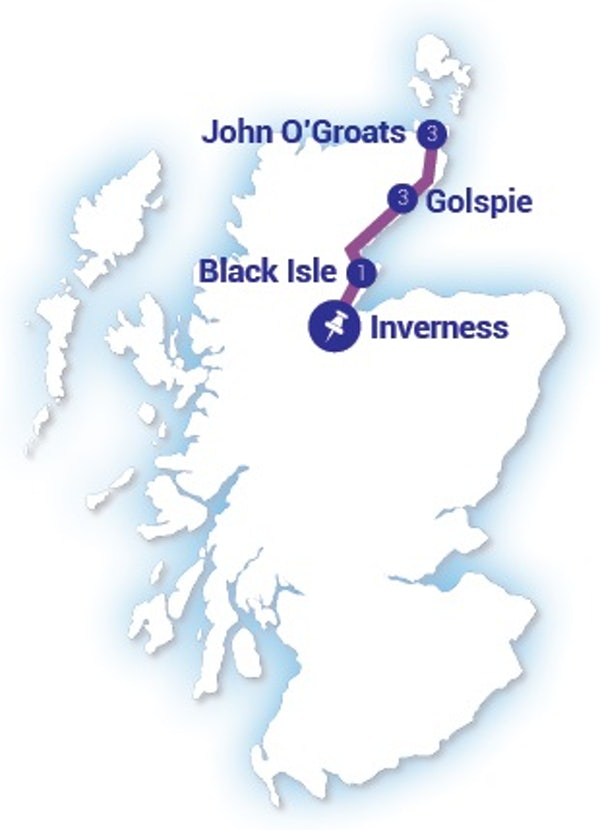 John O'Groats & The Far North header image