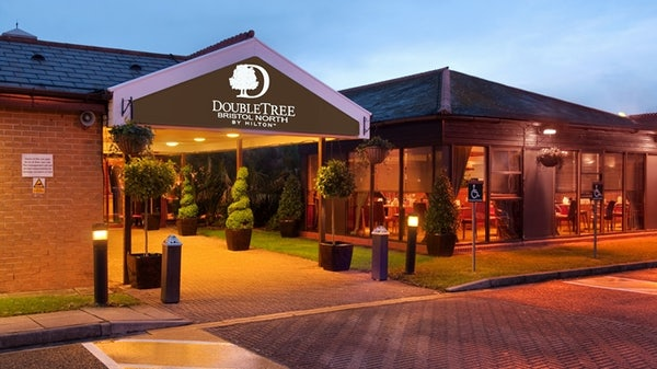 DOUBLETREE BY HILTON BRISTOL NORTH header image