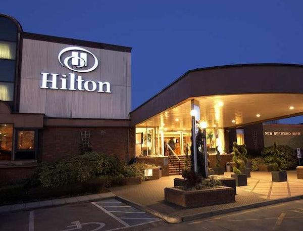 HILTON WATFORD header image