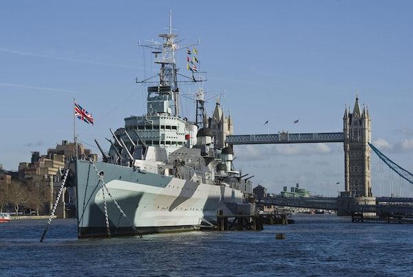 HMS Belfast header image