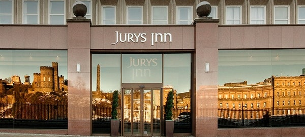 JURYS INN EDINBURGH header image