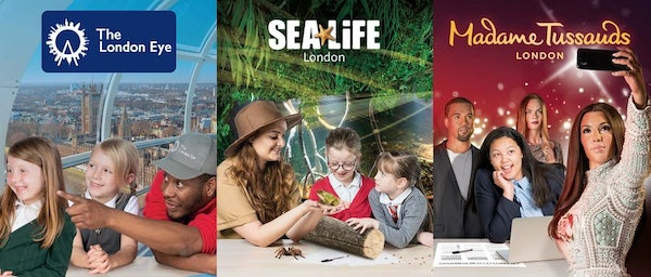 Merlins Magical London - 3 attractions header image
