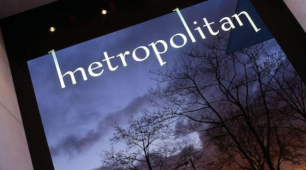 METROPOLITAN header image