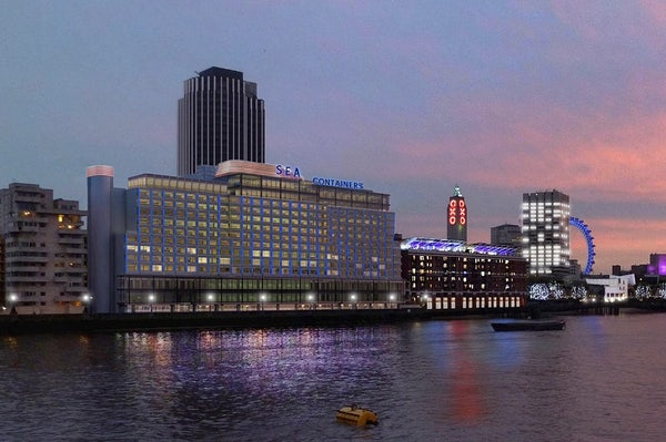 SEA CONTAINERS header image