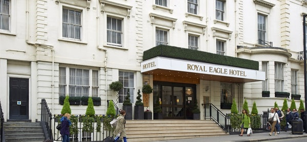 ROYAL EAGLE header image