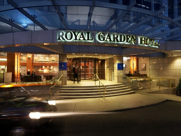 ROYAL GARDEN header image