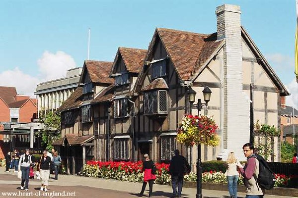 Shakespeare's Birthplace header image