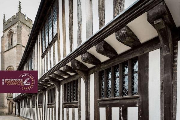 Shakespeare's Schoolroom & Guildhall header image